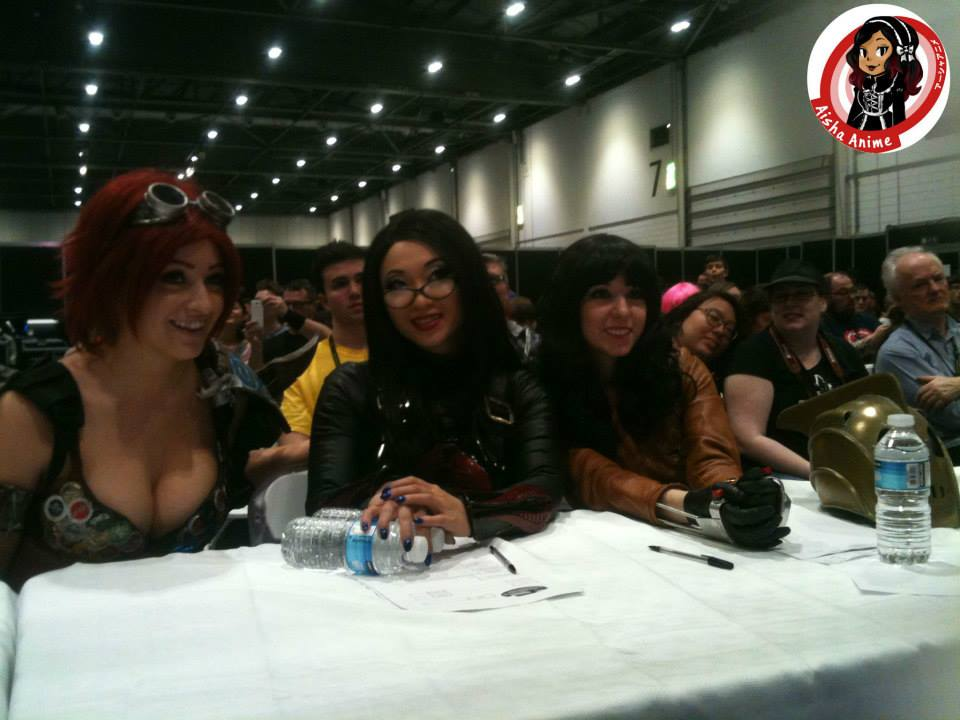 The Judges: Tabitha Lyons from Artfakes, Yaya Han and Riddle