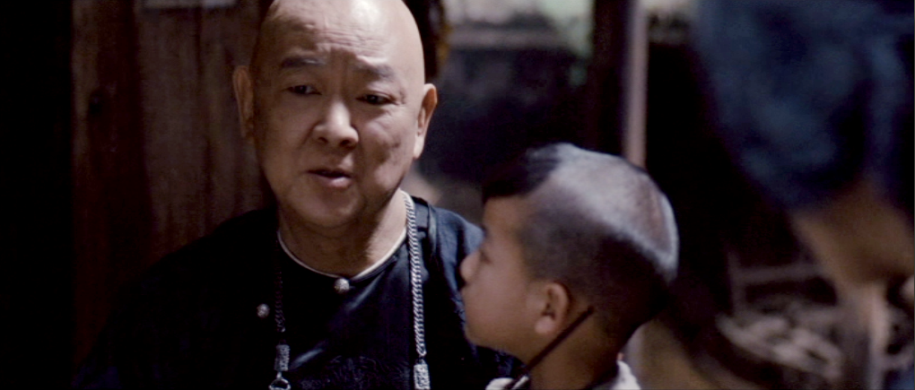 Jimmy Wang-Yu and his on-screen grandson