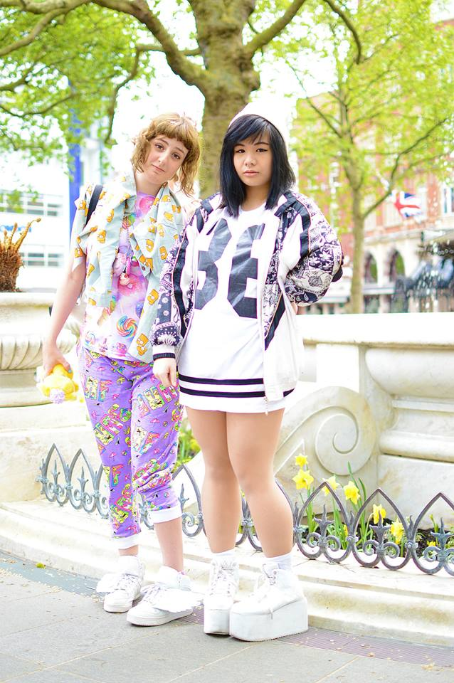 Izzy and Yui bring the Harajuku style to London
