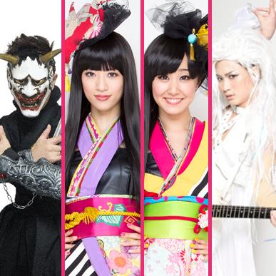 Masked Ninja HIROKI,   YANAKIKU andAOI's debut