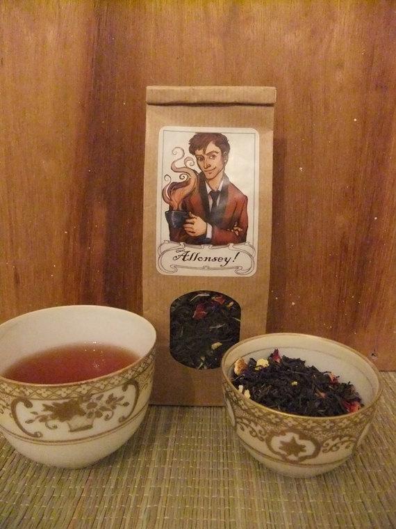 dr who tea