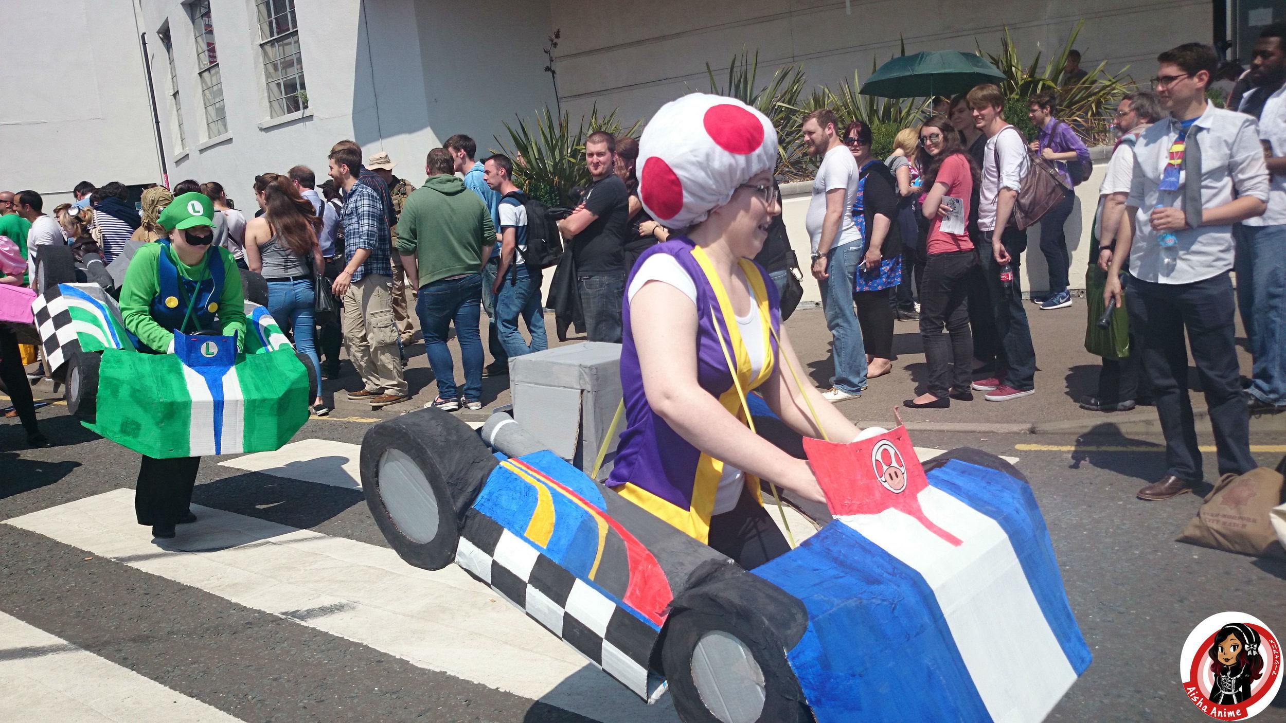 mario cart cosplay