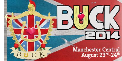 Buck emblem and banner