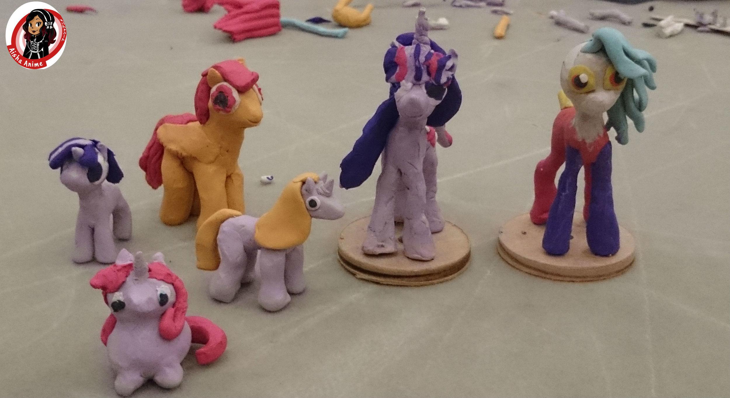 clay ponies