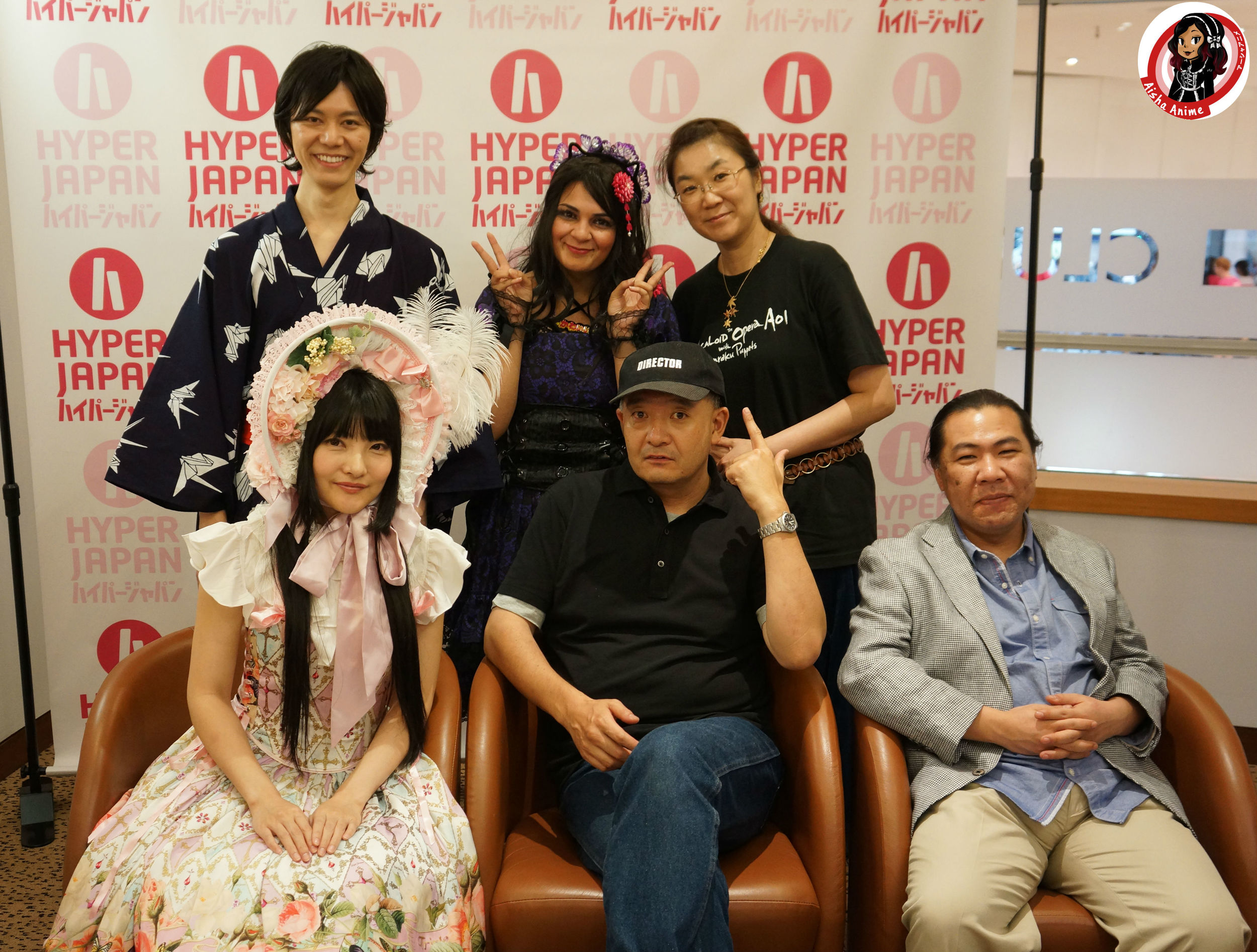 Vocaloid Opera Aoi team, Mr Director loved my Lolita outfit ^_^