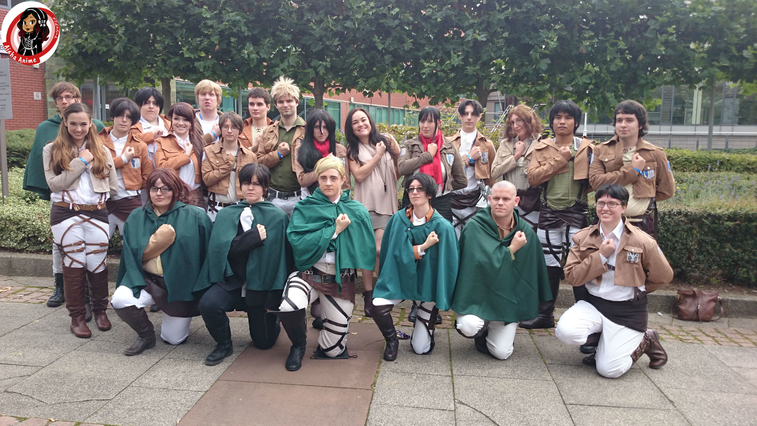 group attack on titan trina