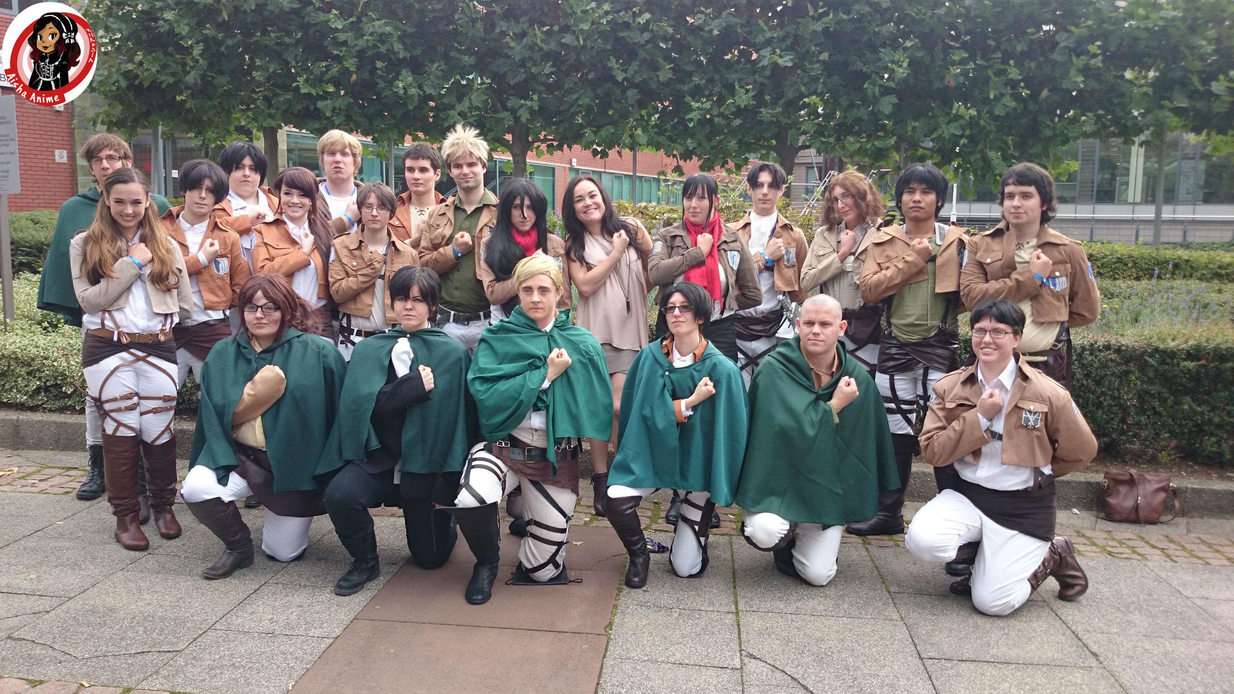 group attack on titan trina