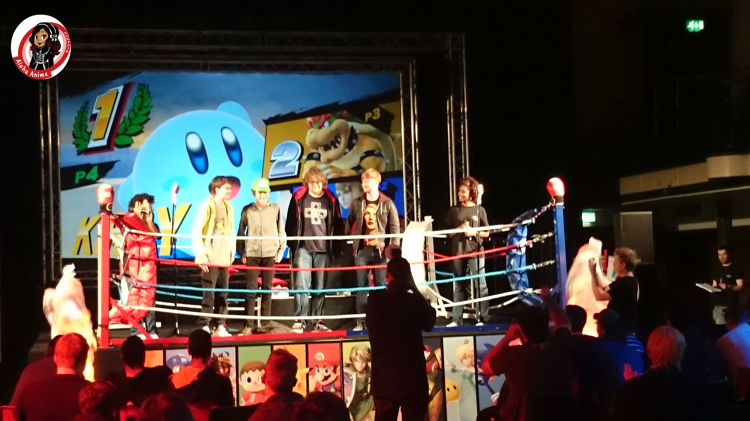 boxing ring smash