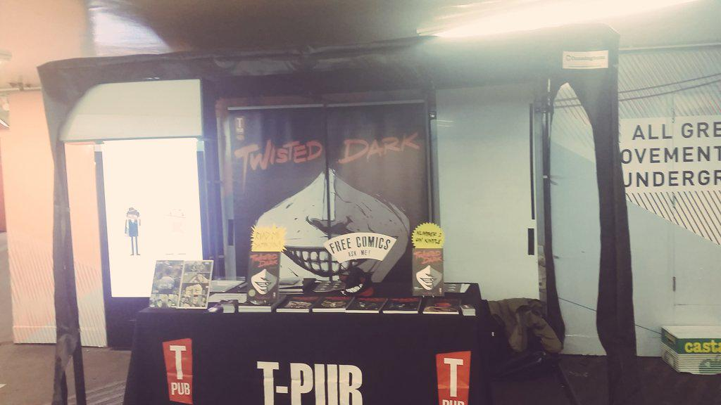 T Pub have set shop up inside Old Street Station