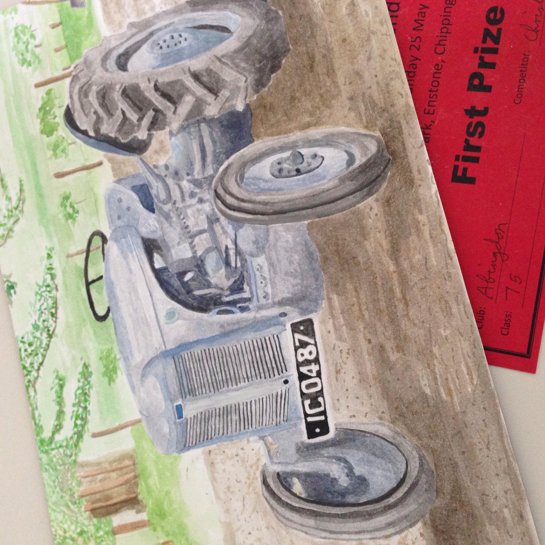 Final art work - First prize!