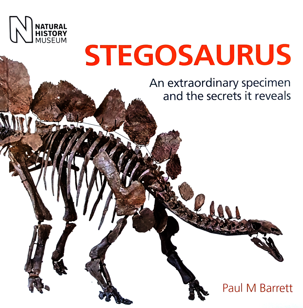 Cover of Barrett (2017)... perhaps the only published volume fully devoted to stegosaurs and stegosaurs alone.