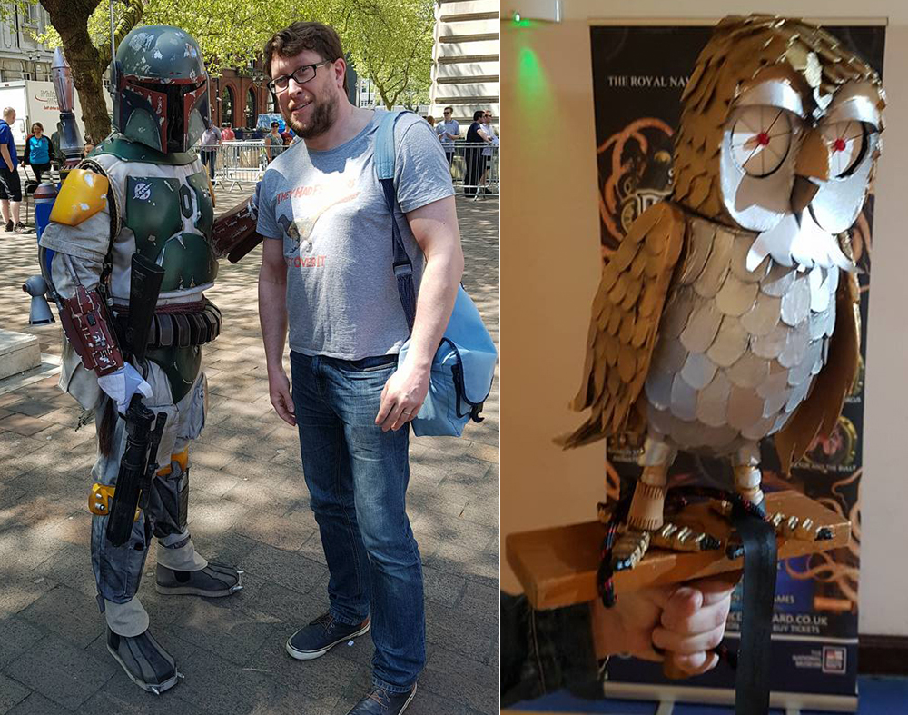 In May 2018, I (with my kids Will and Emma) attended the Portsmouth Comic Con, and here are some scenes. Not really relevant to TetZoo, but what the hell. Images: Darren Naish.