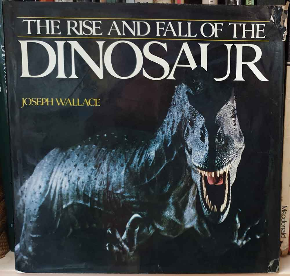 "One of several books that were highly inspirational if you encountered them at the right time.   Wallace (1989)   includes both exciting artwork as well as cutting-edge news ( Protoavis ?! Wtf!, I thought). And on the cover? Yes, it's Czerkas's allosaur, portrayed as a dark and sinister predator: "" the Darth Vader of animals "", to quote John Conway. Image: Darren Naish."