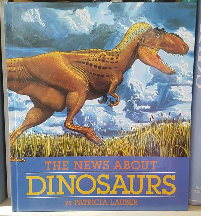 Greg Paul's running  Daspletosaurus  - here on the cover of   Lauber (1989)   - is one of his most famous paintings, yet I don't remember seeing it. Oh well. Image: Darren Naish.