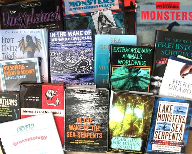 The cryptozoological literature includes many volumes that discuss sea monster reports, and often interpret them within the 'prehistoric survivor paradigm' (or PSP). Image: Darren Naish.