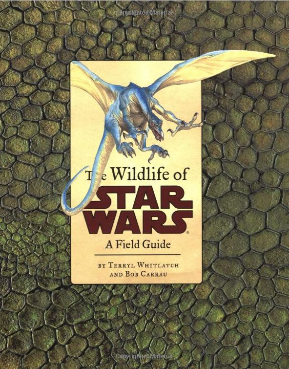 Whitlatch & Carrau's  The Wildlife of Star Wars   , front cover. Image: amazon.co.uk.