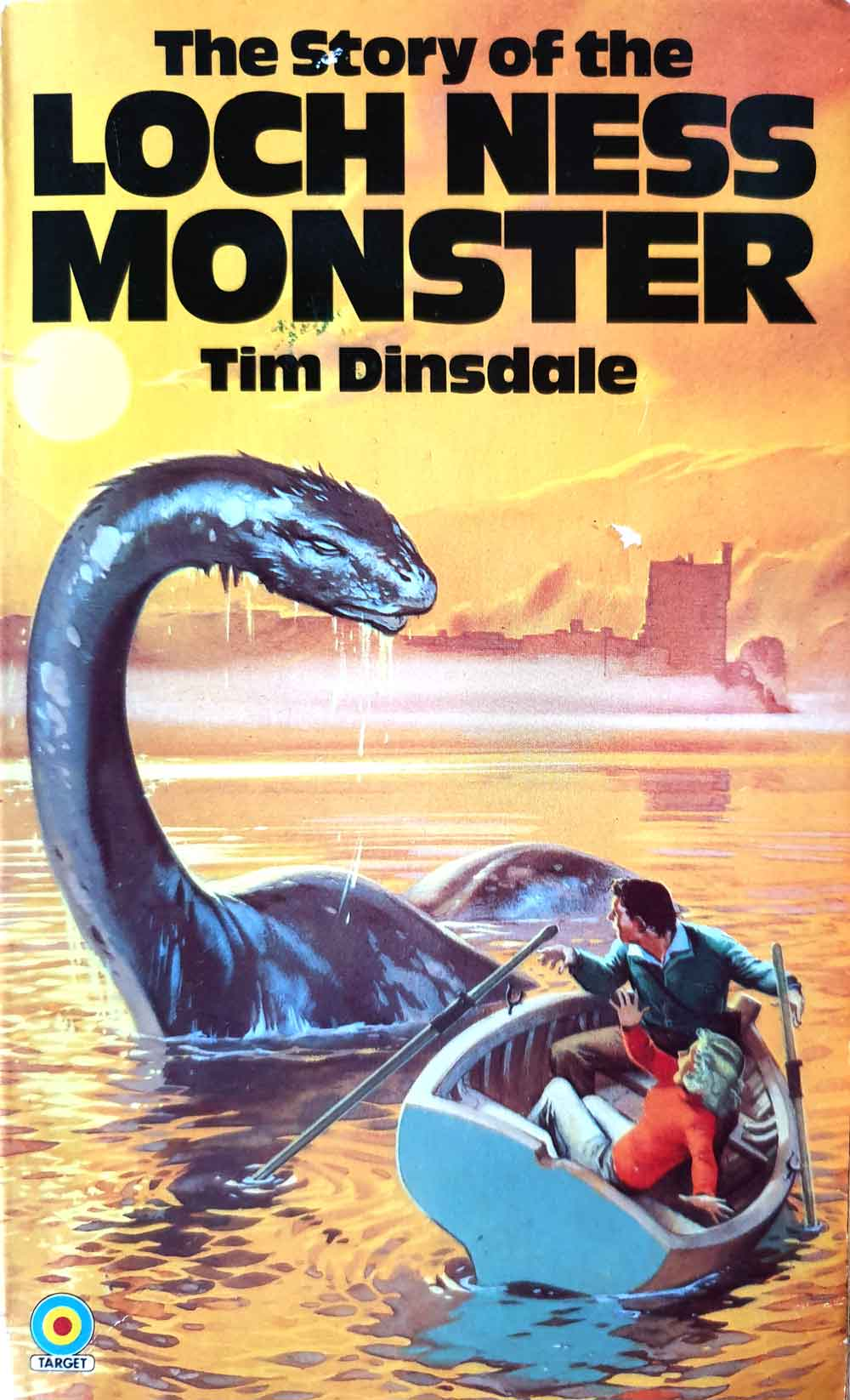 Scientific interest in Nessie might have waned during the 1980s, but this was the decade that gave us this fantastic book cover. You might doubt that encounters as close and thrilling as this ever occurred. It belongs to the sixth edition of this book, published in 1982.