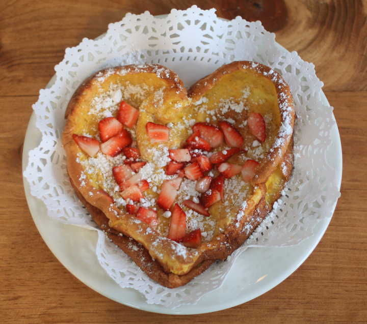 Valentine German Pancake