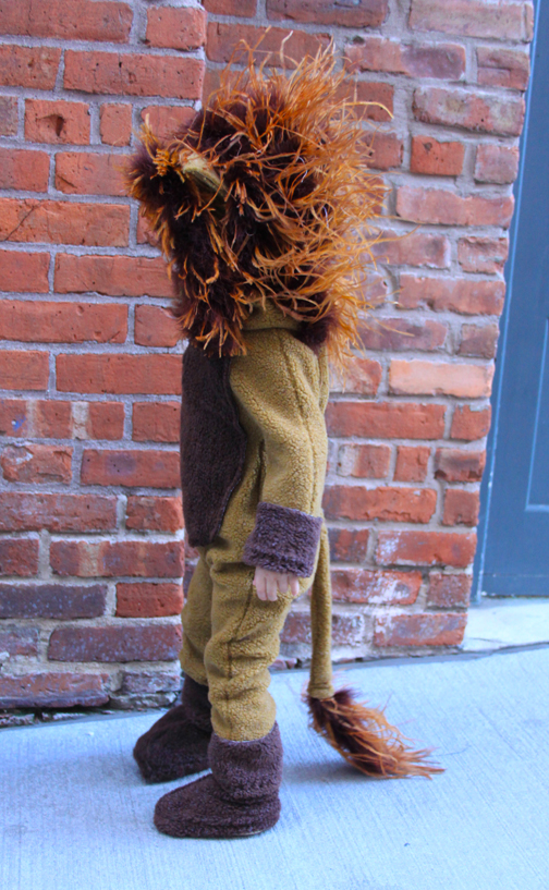 DIY Lion Costume for Toddlers