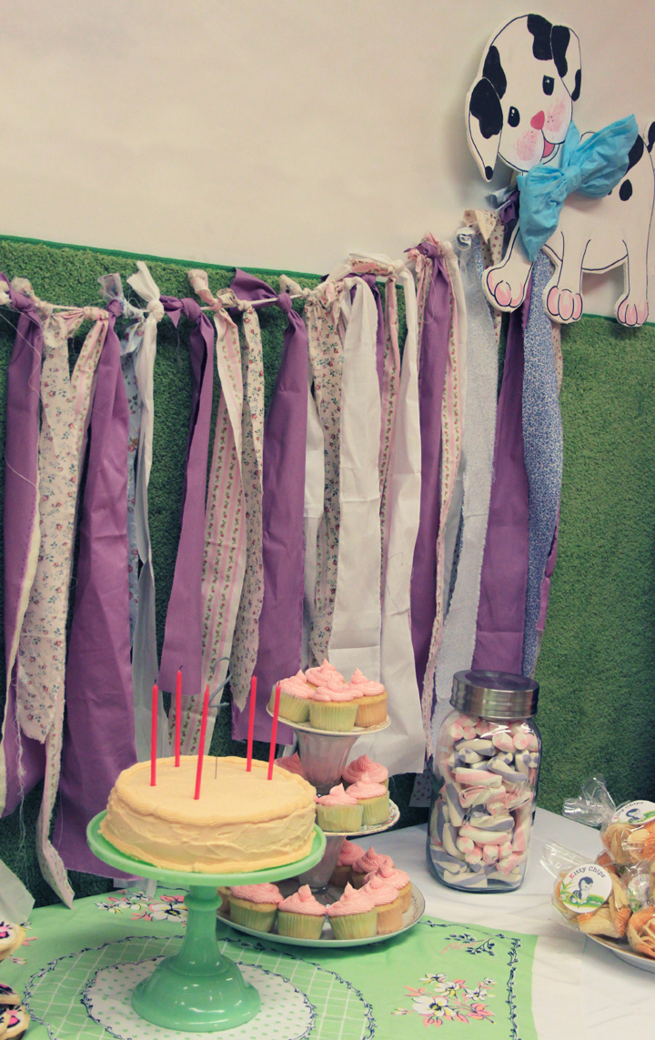 Vintage Kitty and Puppy Birthday Party