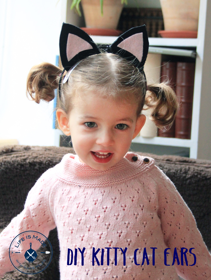 Kitty Cat Ear DIY