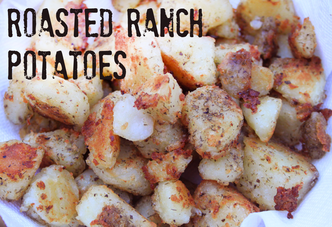 Roasted Ranch Potatoes Recipe // Life is Made with Katie Miles // www.lifeismade.com