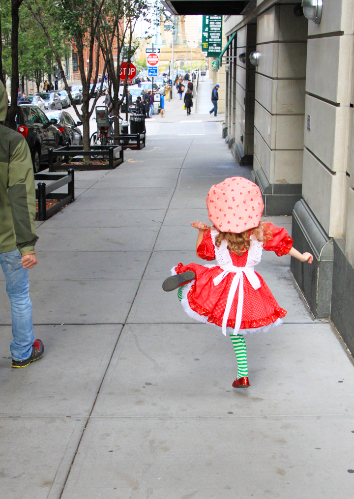 Strawberry Shortcake Costume Tutorial // Life is Made with Katie Miles // www.lifeismade.com