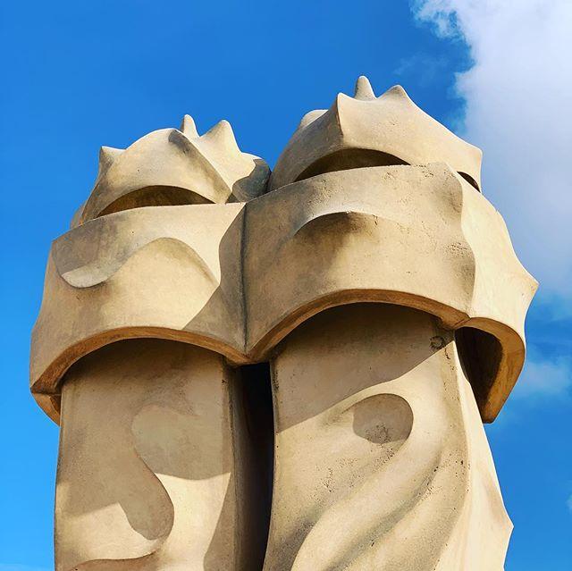 All Gaudí, all the time. . . . . . . #gaudi #casamila #architecture #modernismo #modernismocatalan #catalan #barna #barcelona #designinspiration #lapedrera