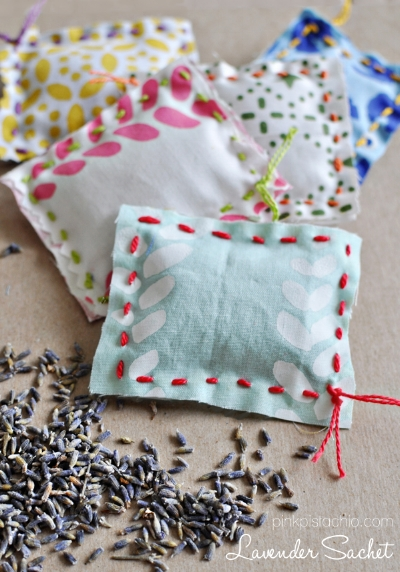 Spring sachets will brighten anyone's day!