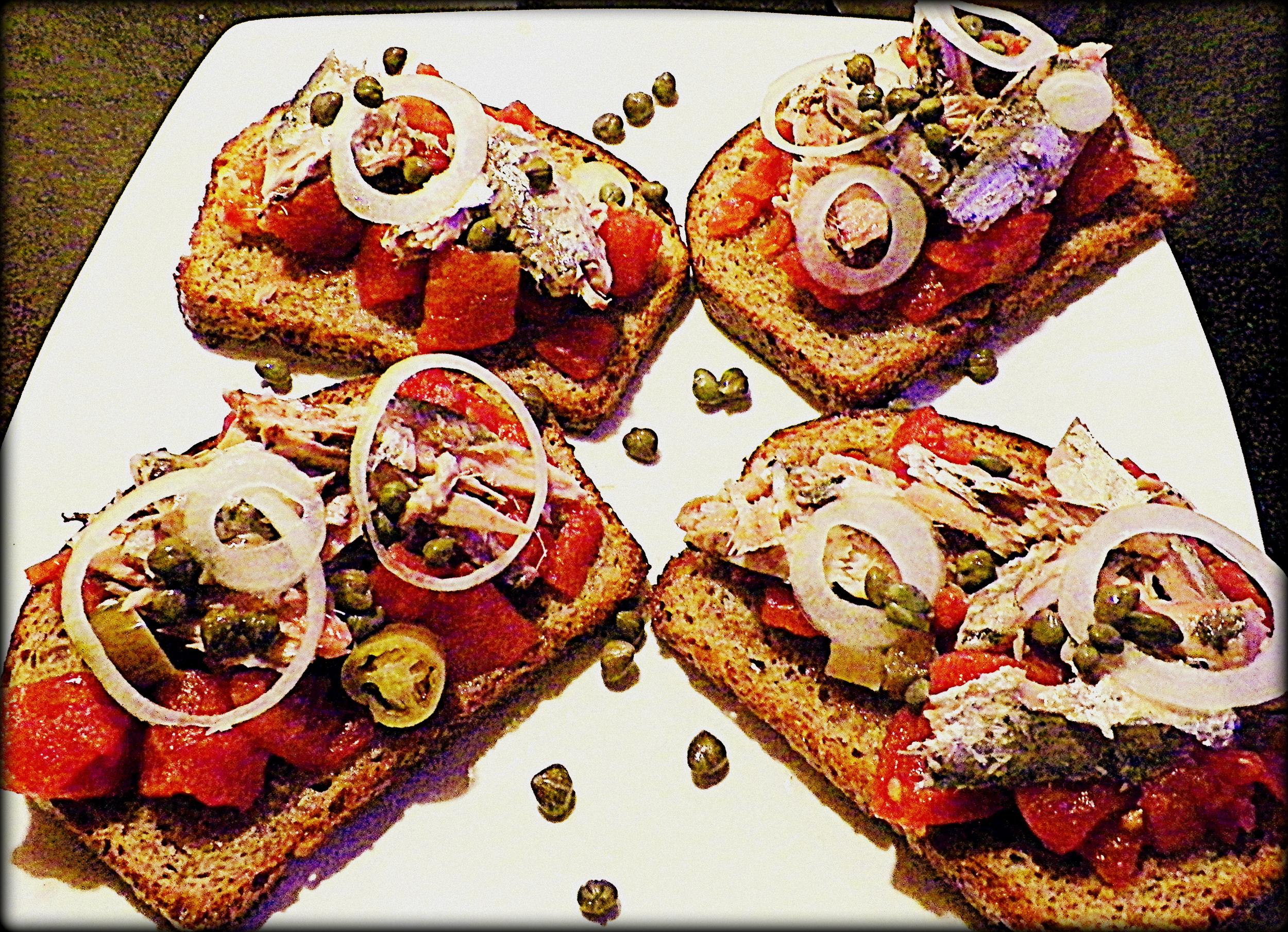 Sardine toasts  2-6-13.JPG