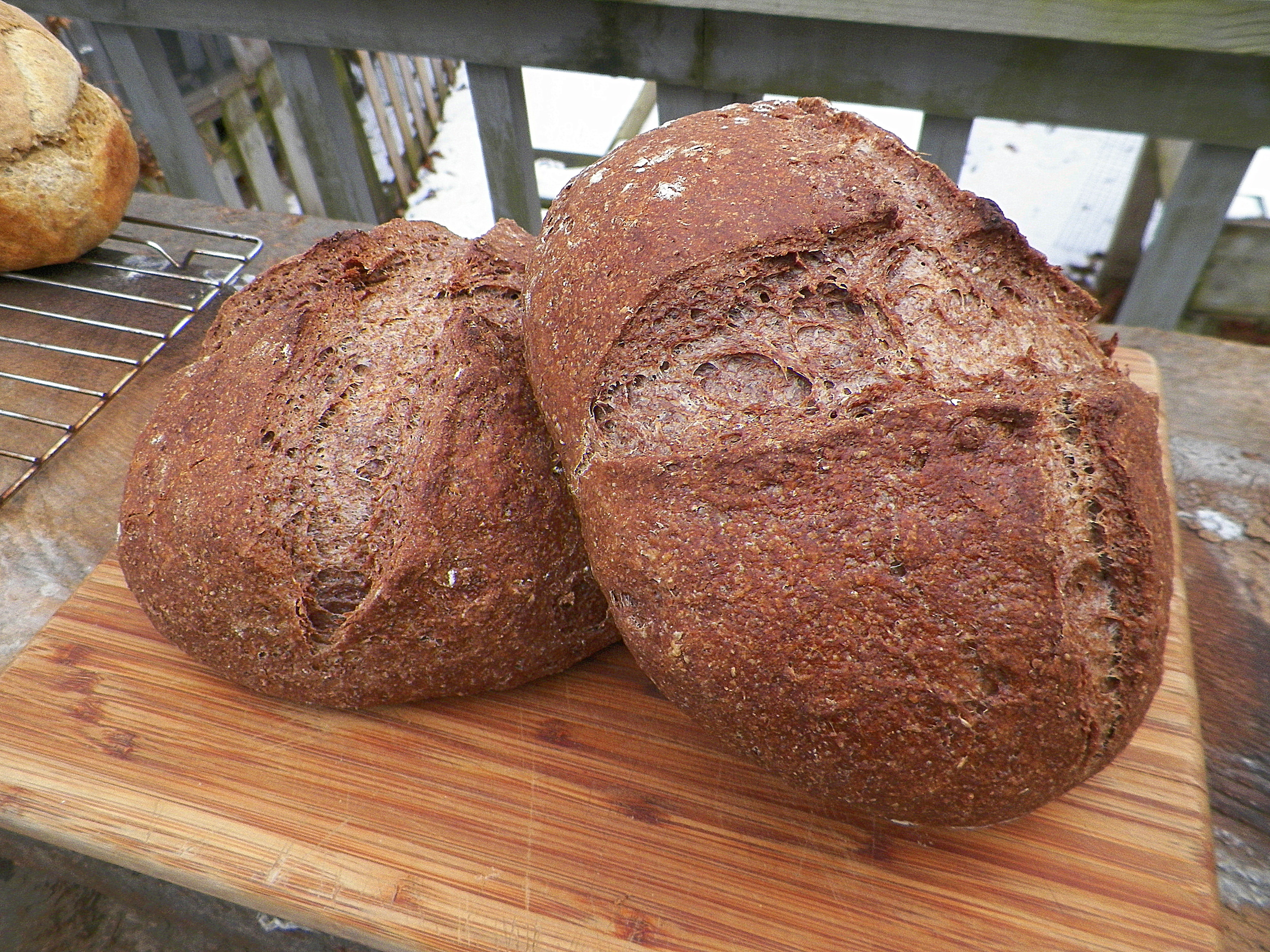 Acorn bread.