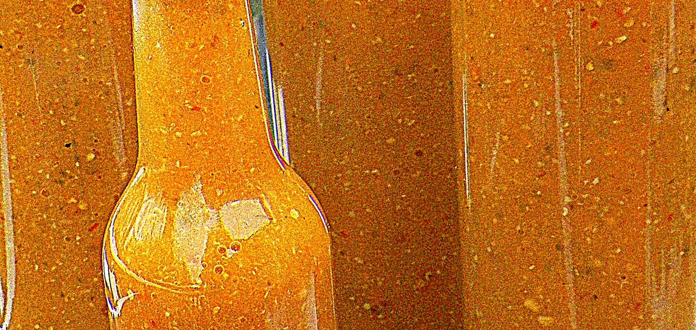 mango habanero sauce close-up