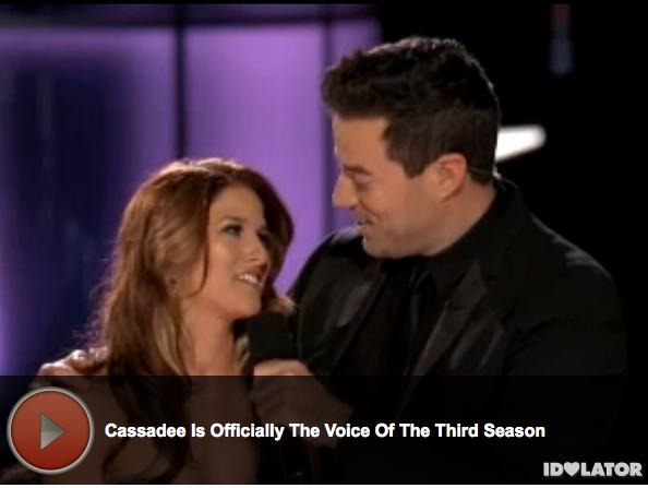 'The Voice:' Cassadee Pope Wins Season 3