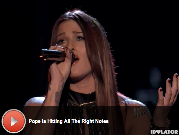 'The Voice: Cassadee Pope Covers Avril Lavigne