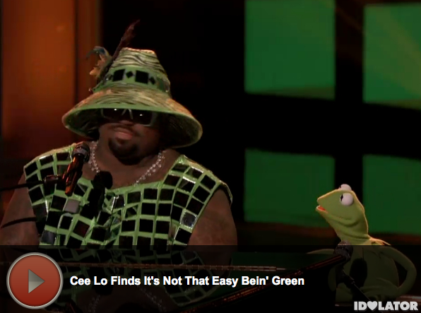 'The Voice:' Cee Lo Green and Kermit The Frog