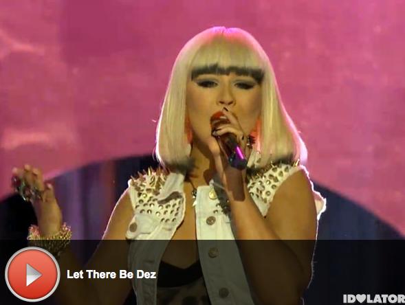 'The Voice:' Christina Aguilera Performs