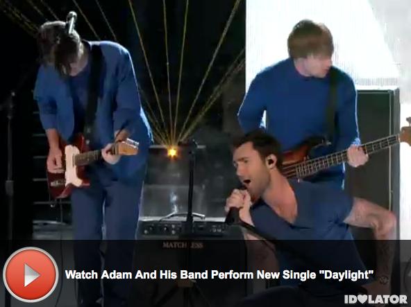 'The Voice:' Adam Levine Performs
