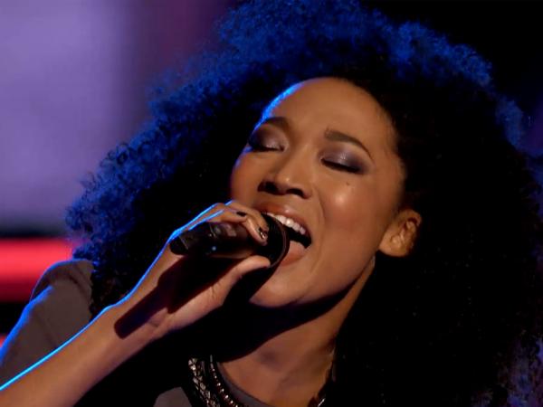 The Voice Judith Hill Sasha Allen