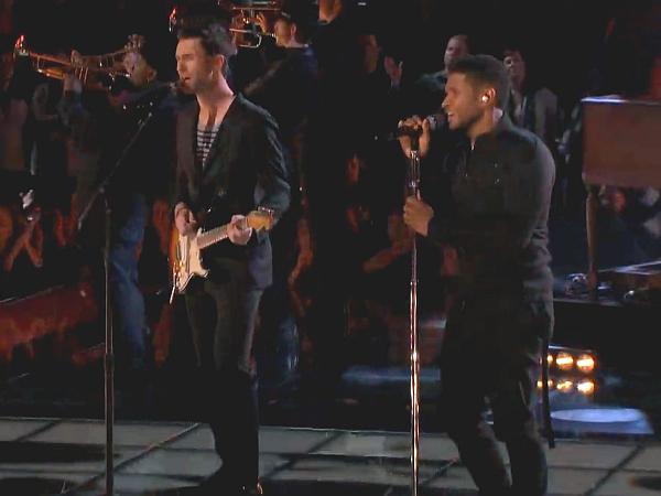 The Voice Usher Adam Levine