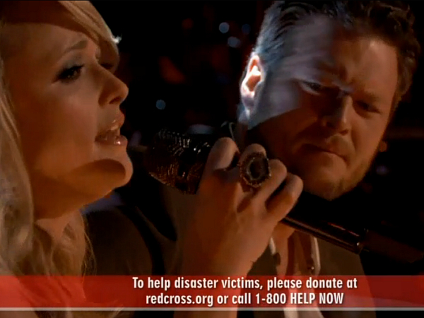 Miranda Lambert Blake Shelton on The Voice