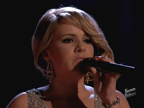 Amber Carrington Sings Skyfall