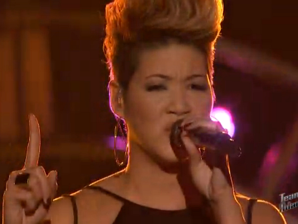 The Voice Tessanne Chin Unconditionally