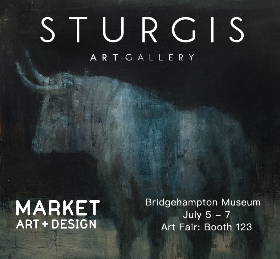 This Weekend, with Sturgis Art Gallery, NYC Market Art & Design Fair at Bridgehampton Museum, Hamptons, Long Island, NY.