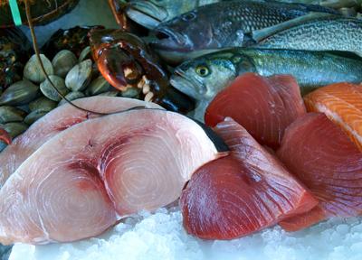 Local Swordfish, Black Seabass, Weakfish, Lobster, Clams & Tuna