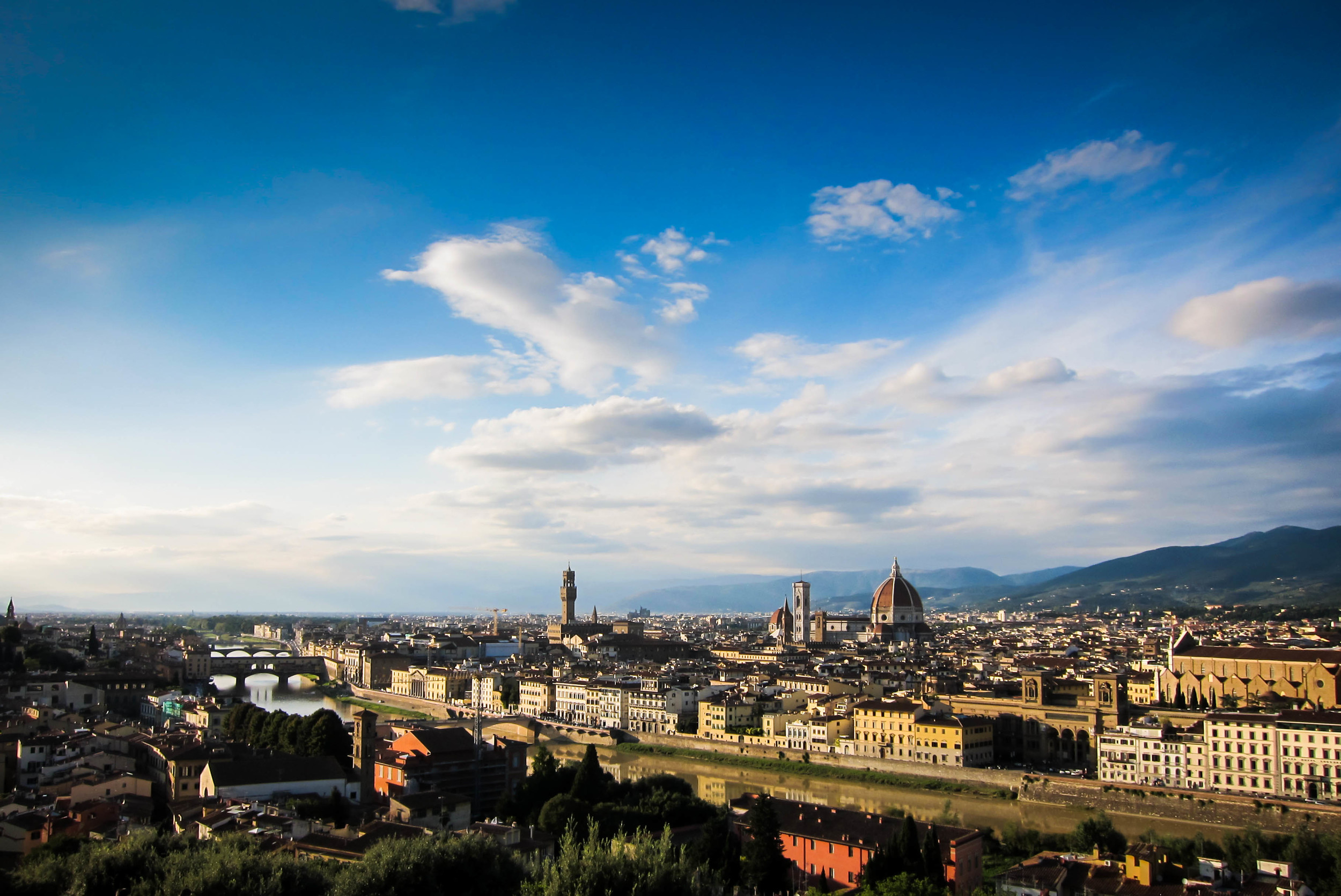 Florence Skyline: Florence, Italy