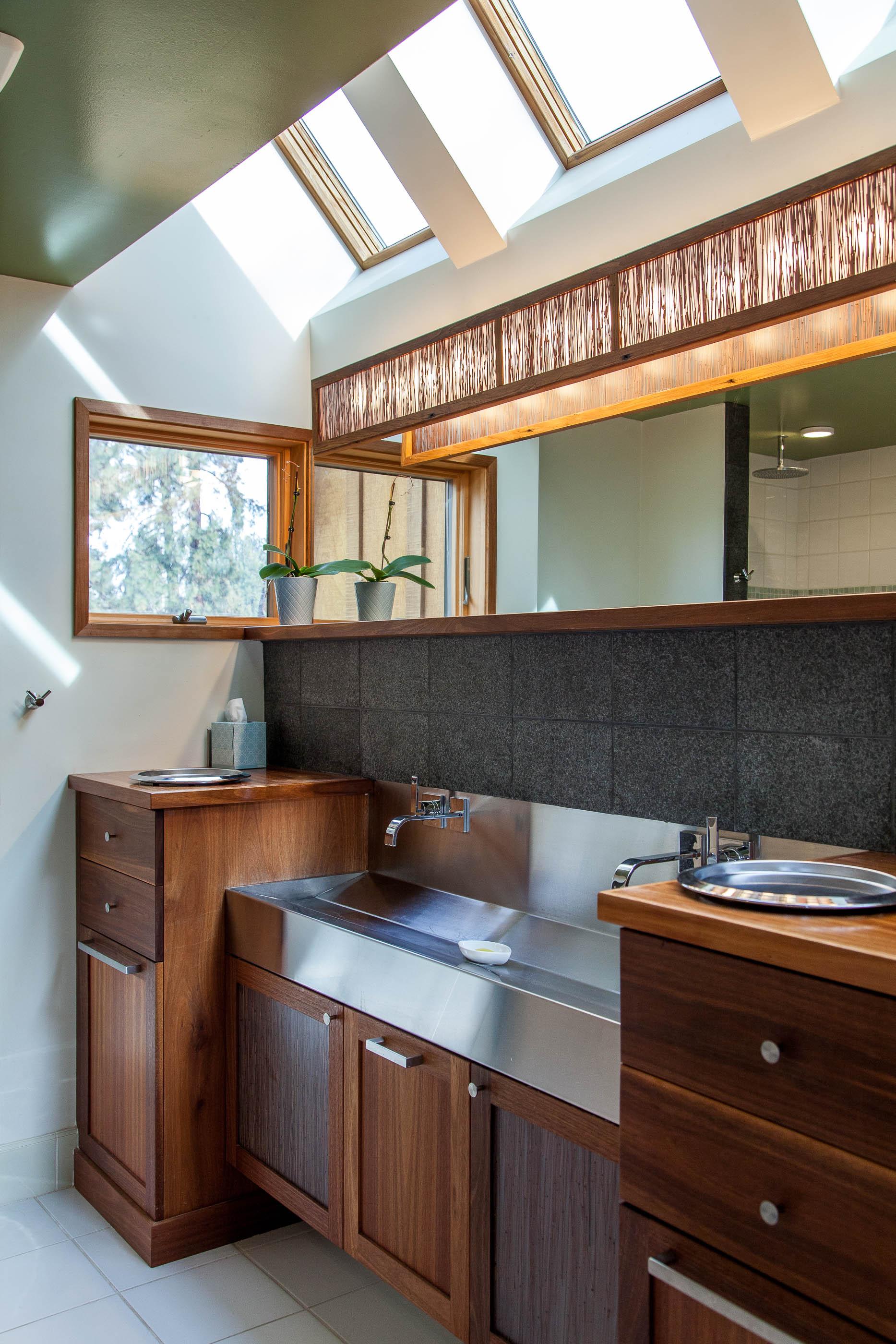 Master bathroom, townhome development