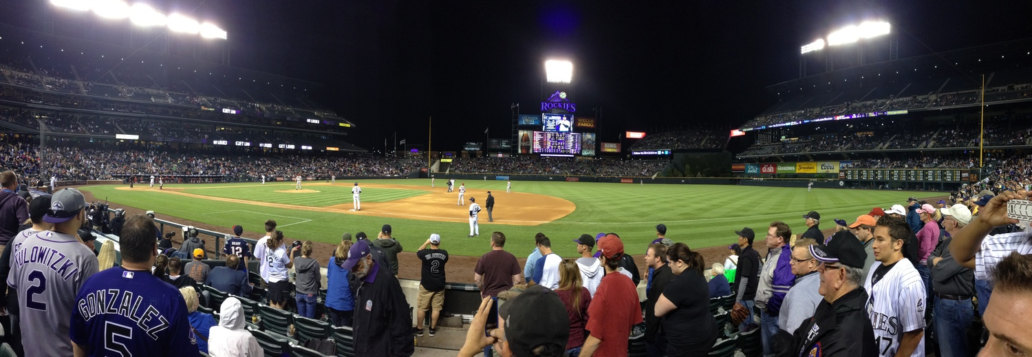 Rockies 5  Dimondbacks 4