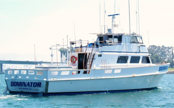 The Dominator. Best fishing boat on the west coast.