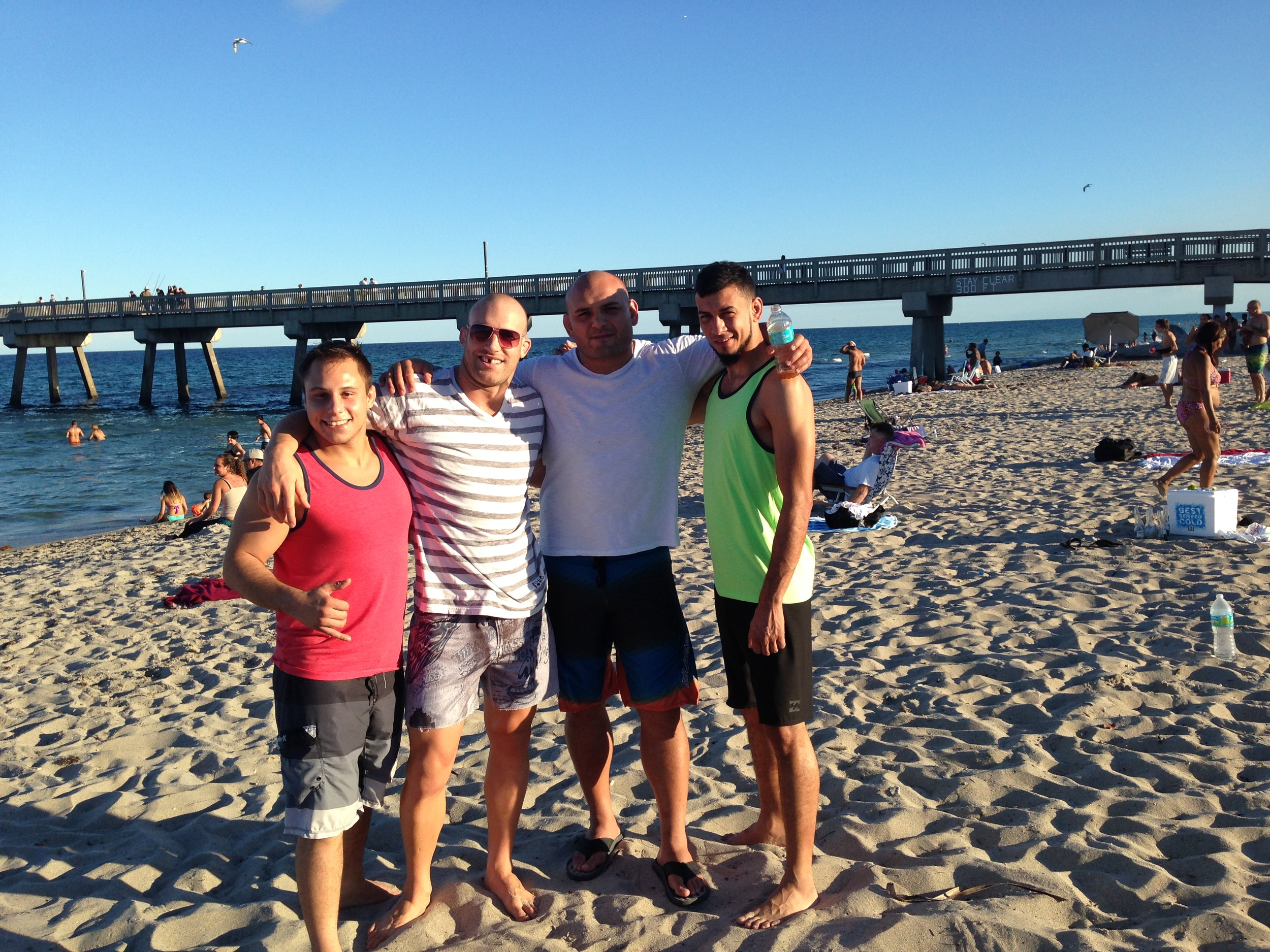 """Just before """"the incident"""" on Deerfield Beach"""
