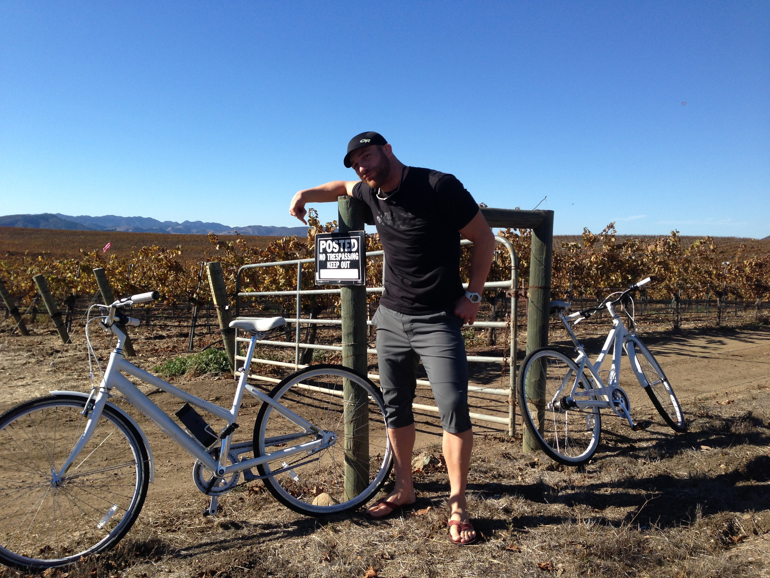 Wine country outlaw
